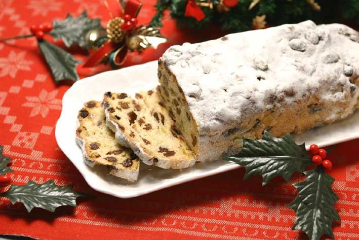 ドイツのクリスマス菓子シュトーレン